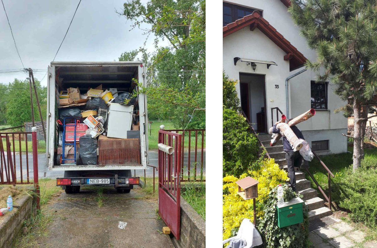 lomtalanítás Mogyoród településen és környékén.